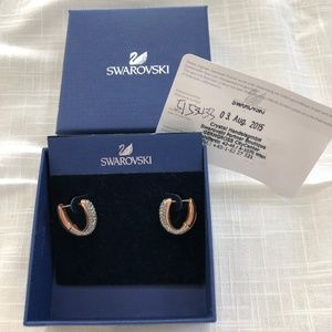 Swarovski Circlet Earrings